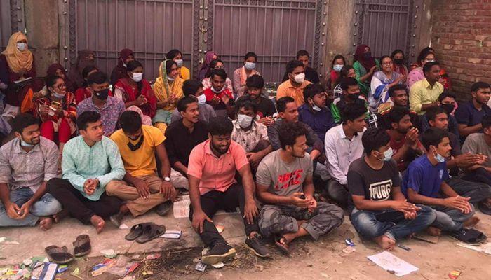 Rabindra University Students Lift Blockade after Getting Assurance from Edu Min