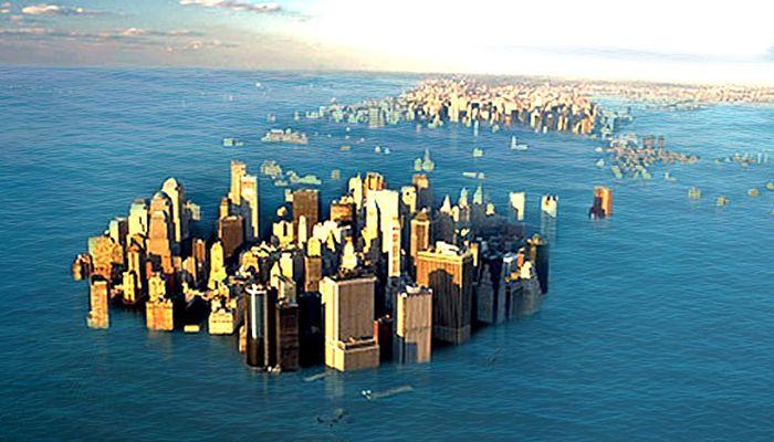 Sea level rise || Representational Image || Photo; Collected