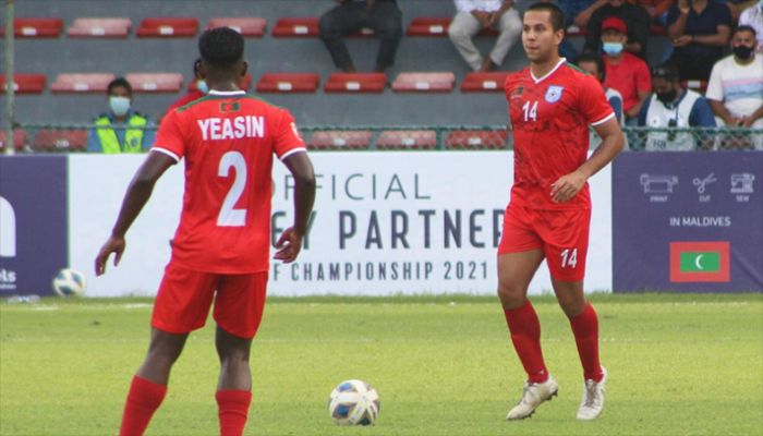 Bangladesh Kick Off SAFF with 1-0 Win